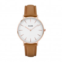 CLUSE CW0101201017 LA Bohème Rose Goldplated White Caramel horloge 1