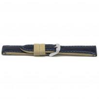 Horlogeband H628 Catalonia Blauw 22x20mm 1