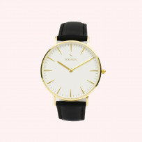 KRAEK Phoebe | Gold | Black 36 mm Dameshorloge 1