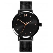 MVMT 28000033-D RVS Zwart Dot Horloge 36 mm 1