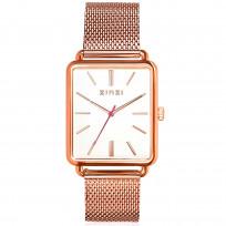 Zinzi ZIW908M Horloge Vintage Retro + gratis armband 34 mm rosekleurig  1