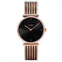 CLUSE CL61005 -0101208005 Horloge Triomphe rosekleurig-zwart 33 mm  1