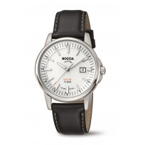 Boccia 3643-01 Horloge Titanium-Leder saffierglas 39 mm  1