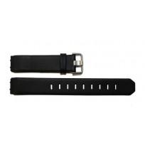Jacob Jensen 700 serie 17mm zwart leer horlogeband