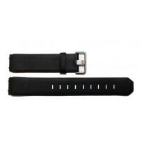 Jacob Jensen 800 serie 19mm zwart leer horlogeband