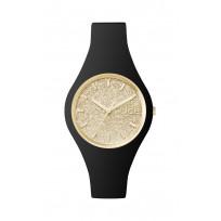 Ice-watch IW001348 Horloge Ice Glitter zwart  35,5 mm  1