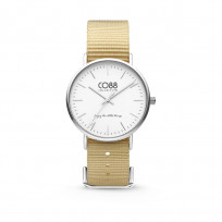CO88 Horloge staal/nylon 36 mm 8CW-10024  1