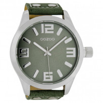 OOZOO C1011 Horloge Timepieces Collection groen 51 mm 1