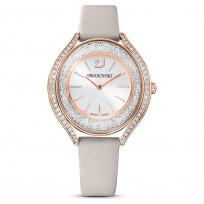 Swarovski 5519450 Horloge Crystalline Aura rosekleurig-grijs 35,5 mm  1