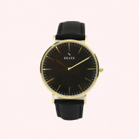 KRAEK Gwylan | Gold | Black 36 mm Dameshorloge 1