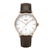 Cluse CW0101501002 Herenhorloge Aravis rosekleurig-wit-bruin 40 mm 1