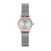 CLUSE CW0101206004 Horloge La Vedette Mesh rose-en zilverkleurig 1