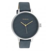 OOZOO C10246 Horloge Timepieces marineblauw 42 mm 1