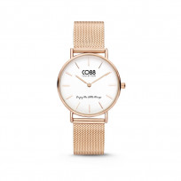 CO88 Collection 8CW 10078 Horloge - Mesh Band - Ø 32 mm - Rosékleurig 1