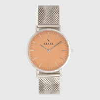KRAEK Yadira | Rose Gold | Mesh  Dameshorloge 1