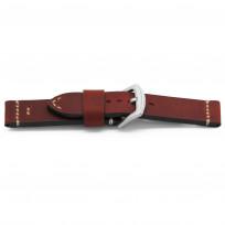 Horlogeband H708 Bison Leder Rood 22 mm NFC 1