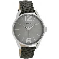 OOZOO JR284 Horloge Junior 38 mm donkergrijs   1