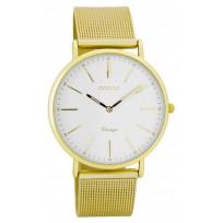 OOZOO C7397 Horloge Vintage 36 mm goudkleurig   1