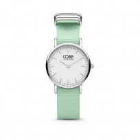 CO88 Collection 8CW-10045 - Horloge - nato band - mint groen - ø 26 mm  1