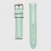 KRAEK Green   Silver   18mm  horlogebandje 1