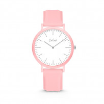 Colori Essentials 5 COL585 Horloge - Siliconen Band - Ø 40 mm - Licht Roze  1