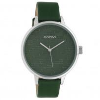 OOZOO C10249 Horloge Timepieces groen 42 mm 1