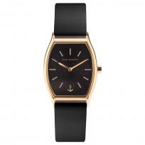 Paul Hewitt PH-T-G-BS-32S Horloge Modern Edge Black Sunray goudkleurig-zwart 30 mm 1
