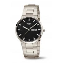Boccia 3649-03 Horloge Titanium Saffierglas Zwart 39 mm 1