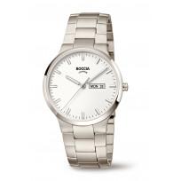 Boccia 3649-01 Horloge Titanium Saffierglas Wit 39 mm 1