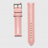 KRAEK Pink   Silver   18mm  horlogebandje 1