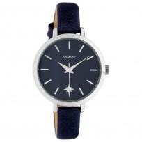 OOZOO C10388 Horloge Timepiece Collection Evening Blue 38 mm 1