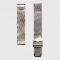 KRAEK Silver Mesh   16 mm  horlogebandje 1