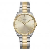 CLUSE CW0101212004 Horloge Feroce zilver- en goudkleurig 36 mm 1