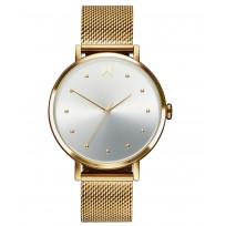 MVMT 28000034-D RVS Goudkleurig Dot Horloge 36 mm 1