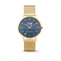 CO88 Horloge staal/mesh 36 mm goudkleurig 8CW-10012 1