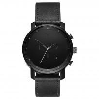 MVMT D-MC01BL RVS Zwart Chrono Horloge 45mm 1
