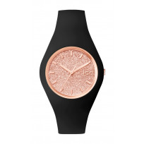 Ice-Watch Horloge Ice Glitter zwart-rosékleurig 41,5 mm IW001353 1