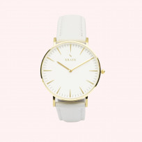 KRAEK Deryn | Gold | White 36 mm Dameshorloge 1