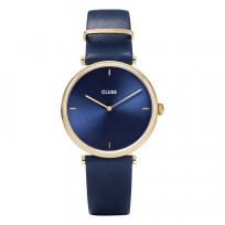 CLUSE CW0101208011 Horloge Triomphe Gold Blue 33 mm 1