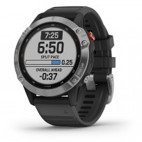 Garmin Fenix 6 Smartwatch 010-02410-00 Solar-Charging Power Glass 47 mm 1
