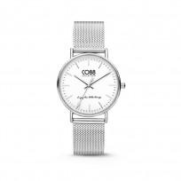 CO88 Horloge staal/mesh 36 mm zilverkleurig 8CW-10002  1