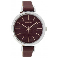 OOZOO Horloge Timepieces rosé-bordeaux 40 mm C9137 1