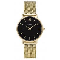 Cluse CW0101203017 Horloge Minuit Mesh goudkleurig 33 mm 1