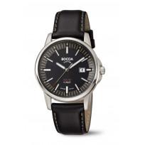Boccia 3643-02 Horloge Solar Titanium-Leder saffierglas 39 mm 1