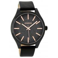 OOZOO C9124 Horloge Timepieces black-rosé 42 mm  1