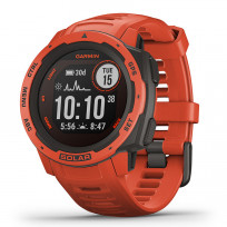 Garmin 010-02293-20 Instinct Smartwatch Solar Flame Red 45 mm 1