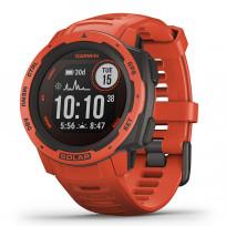 Garmin 010-02293-20 Instinct Smartwatch Solar Flame Red 45 mm 1