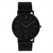 OOZOO C9933 Horloge staal/mesh Black 40 mm 1