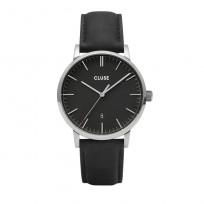 Cluse CW0101501001 Herenhorloge Aravis zilverkleurig-zwart 40 mm 1