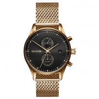 MVMT D-MV01-G2 RVS Goudkleurig Voyager Horloge 42mm 1